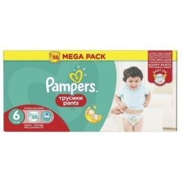 Pampers Pants 6 Extra Large (16+ kg) MEGA BOX 88 ks